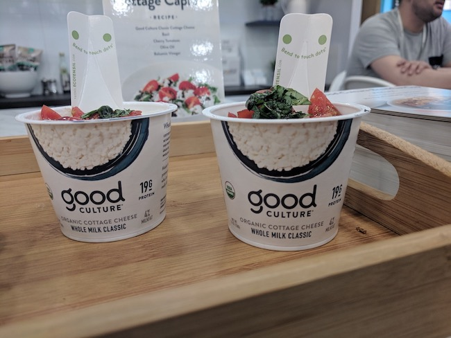 good culture brand cottage cheese snacks