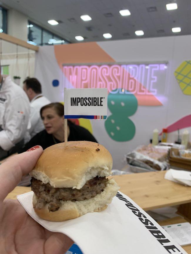 impossible burger slider