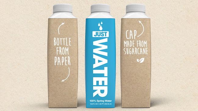bottles of just water brand water