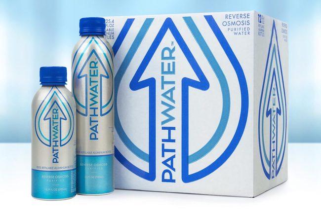 pathwater brand water bottle